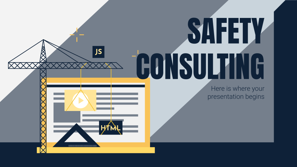 Safety Consulting presentation template