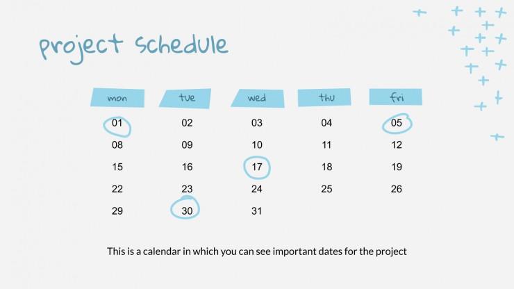 Réunion mensuelle : Modèles de présentation