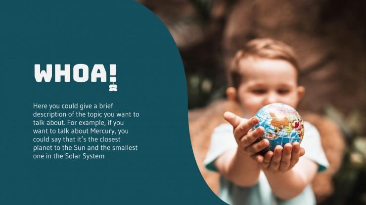 Modelo de apresentação Escola ecológica