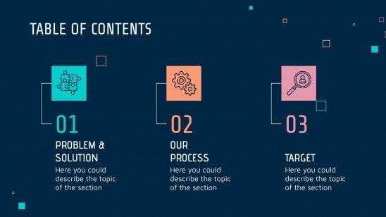 Datenwissenschaft-Beratung Präsentationsvorlage