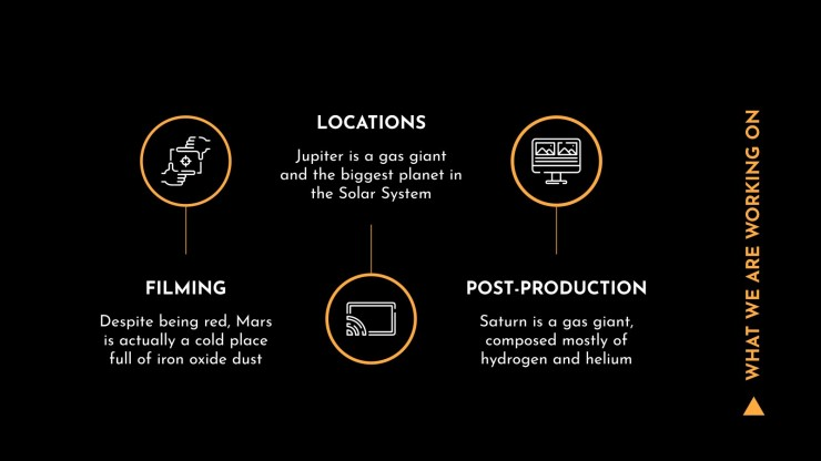 Plantilla de presentación Propuesta de producción audiovisual