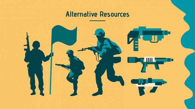 Plantilla de presentación Fuerzas Armadas