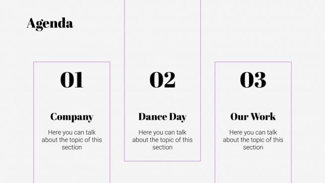 International Dance Day presentation template