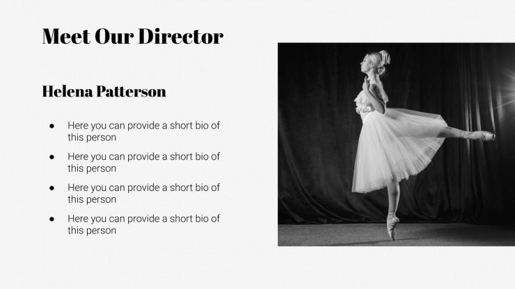 Plantilla de presentación Día Internacional de la Danza