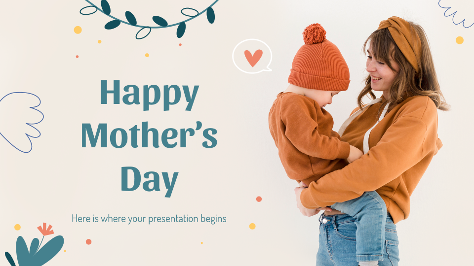 Mother's Day presentation template