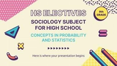 Soziologie für die 9. Klasse: Statistik Präsentationsvorlage