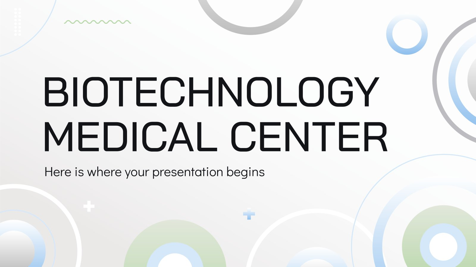 Centre médical de biotechnologie : Modèles de présentation