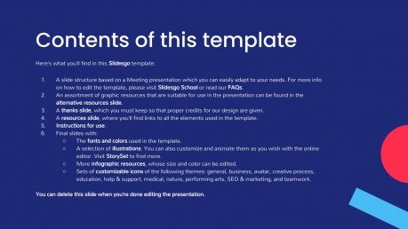 Arfi Business Meeting presentation template