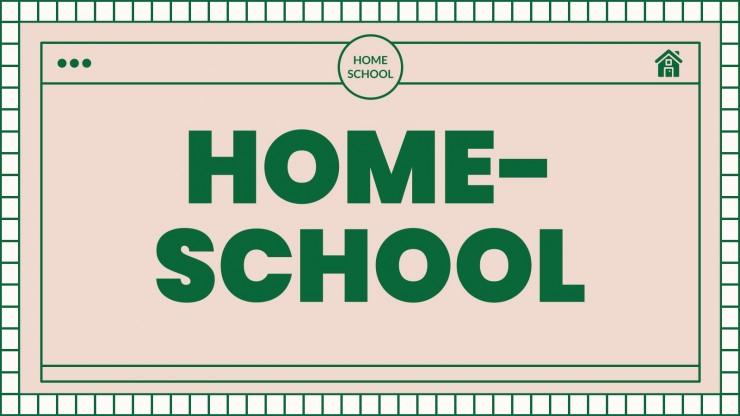 Homeschool Statistics presentation template