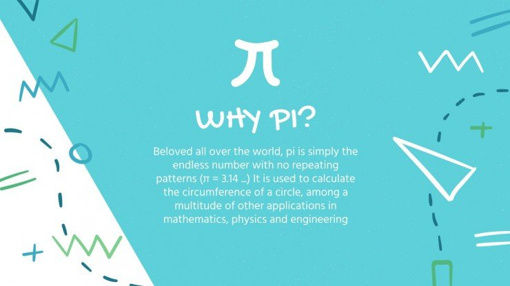 Pi Approximation Day presentation template