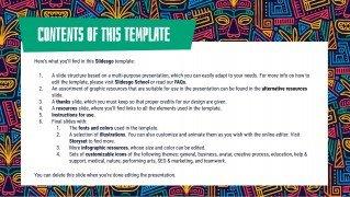 Ethnic Pattern presentation template