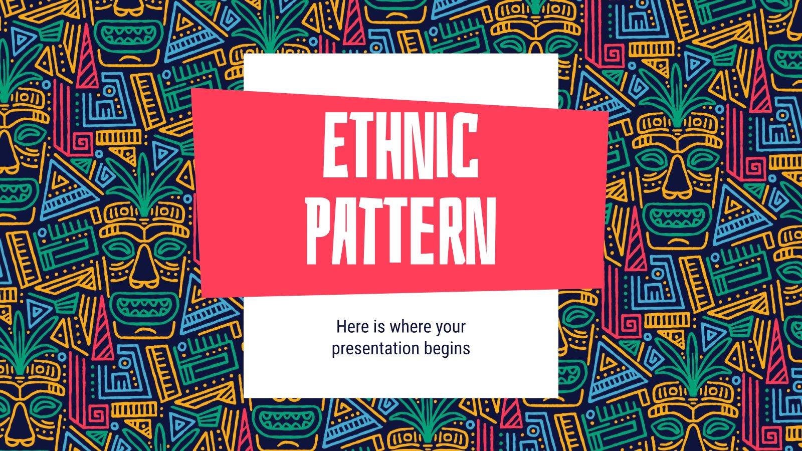 Modèle ethnique : Modèles de présentation