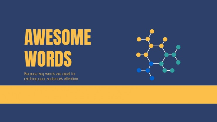 Chemistry Thesis presentation template