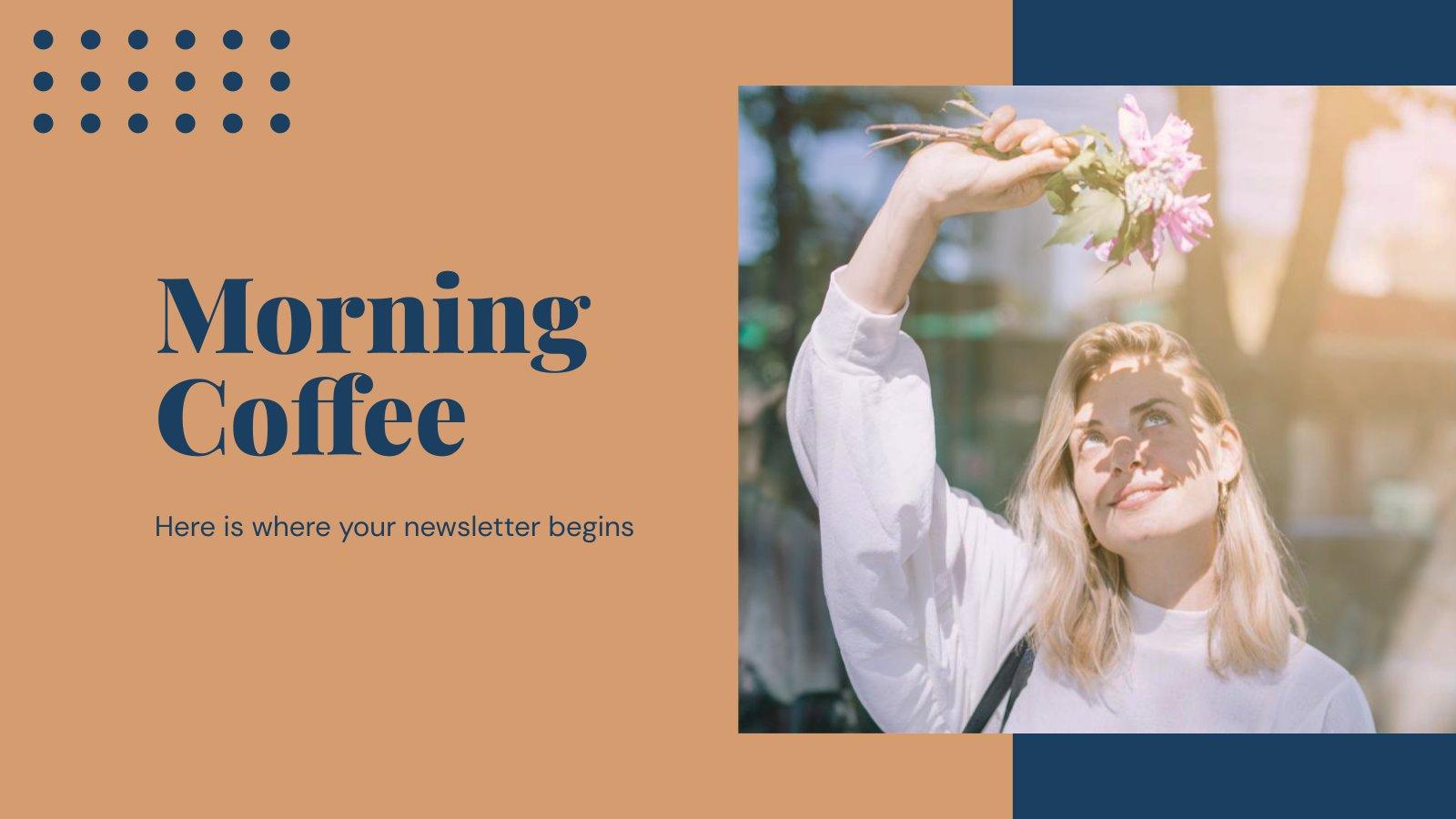 Café du matin : Modèles de présentation