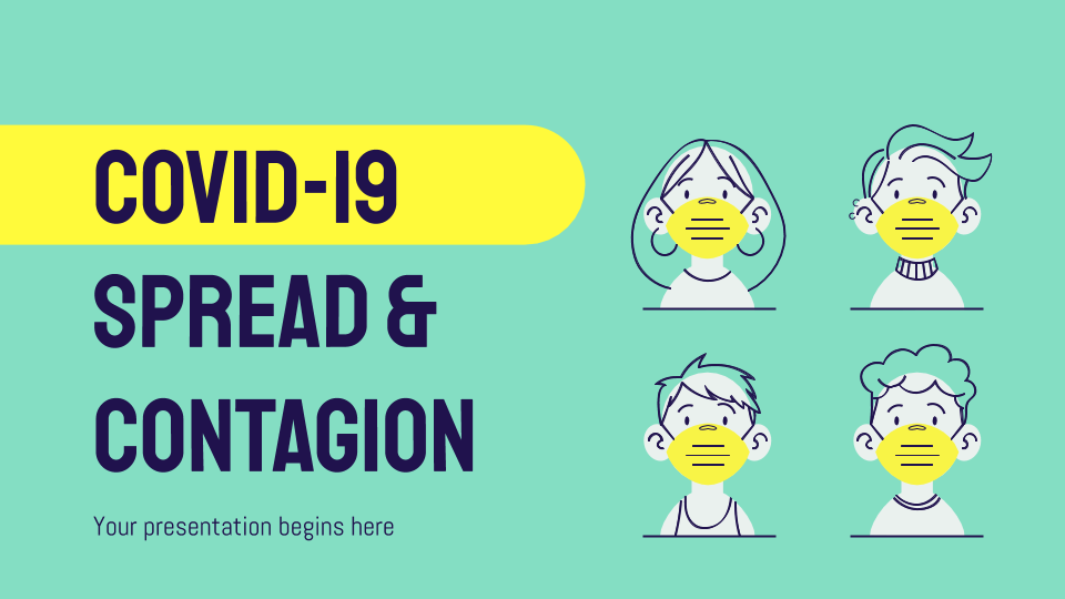COVID-19 Spread & Contagion presentation template