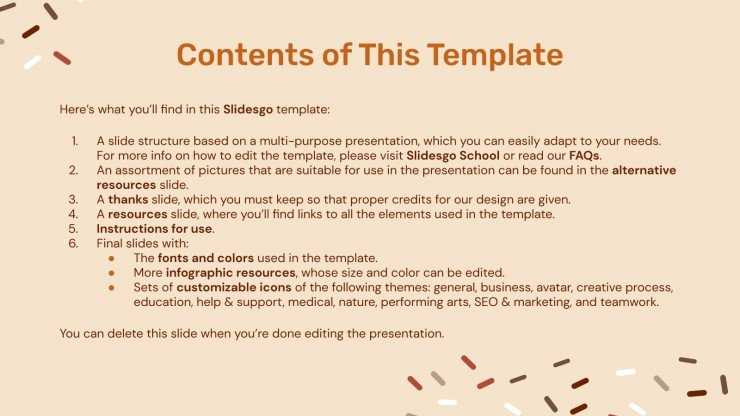 Chocolate Cake Recipe presentation template