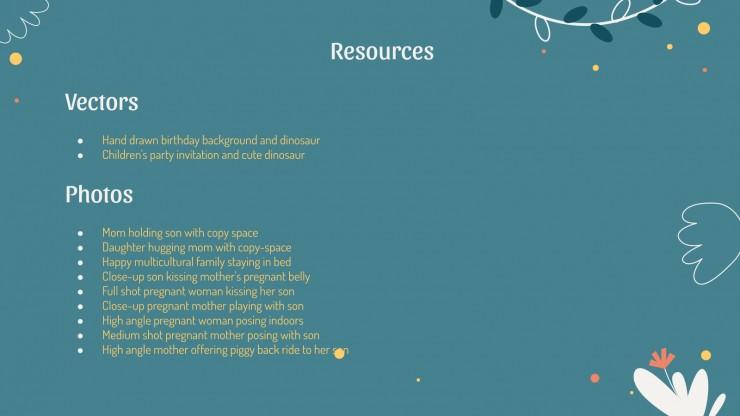 Fête des mères : Modèles de présentation