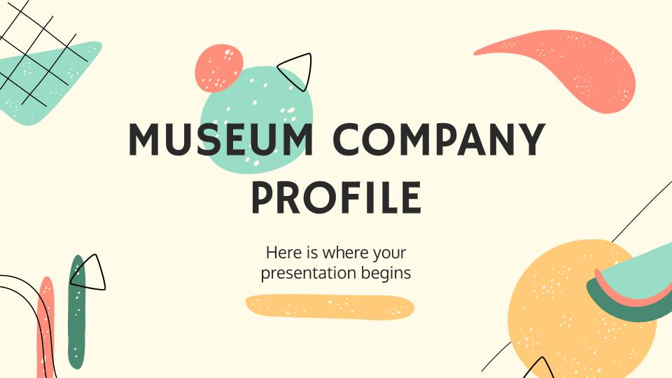 Profil de musée : Modèles de présentation