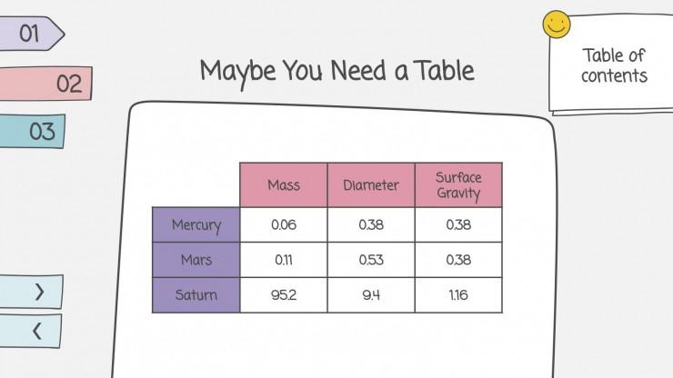 Modelo de apresentação Placar de opções para escolinhas