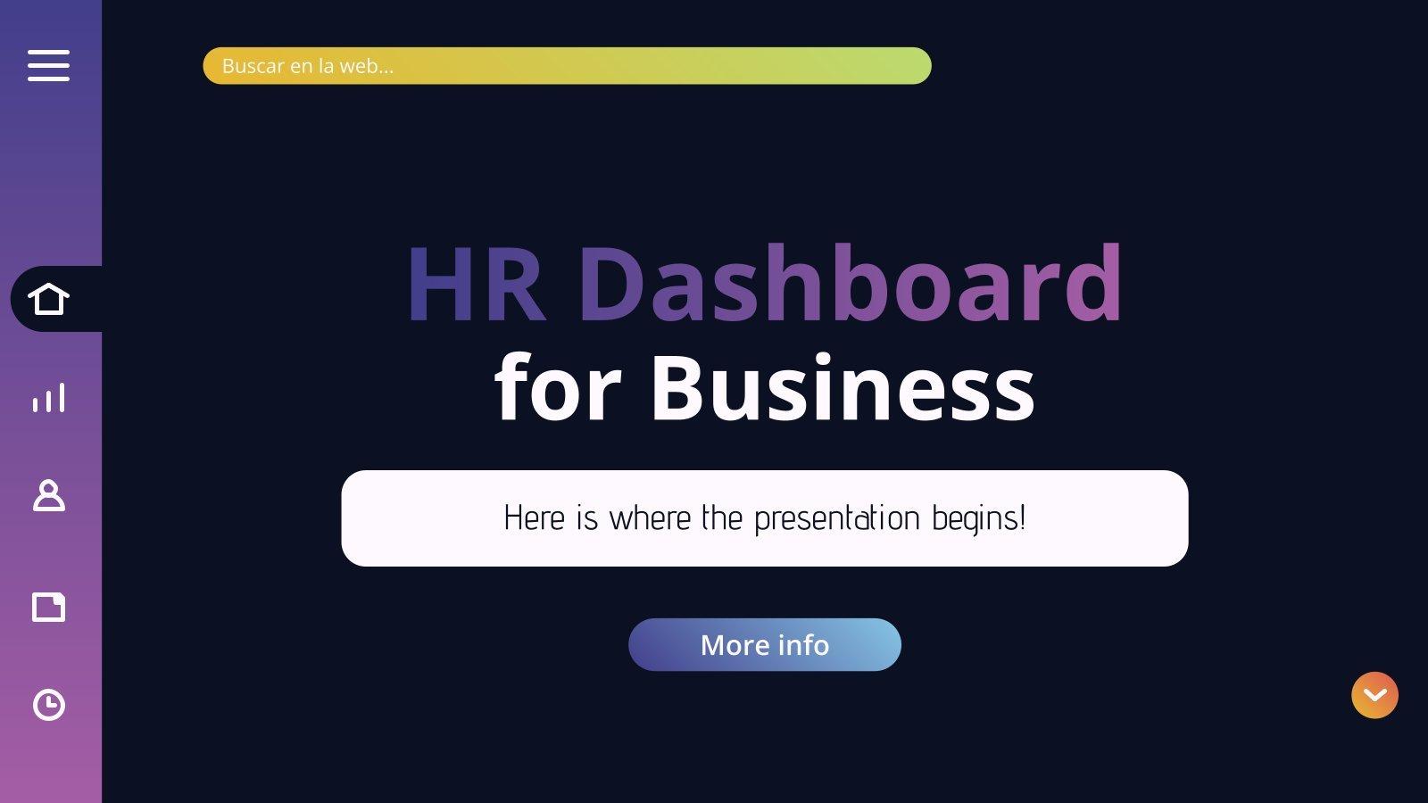 Tableau de bord pour les entreprises : Modèles de présentation
