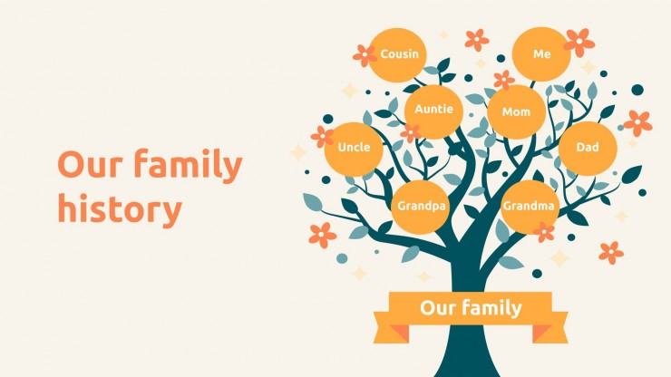 Modelo de apresentação Diversão familiar