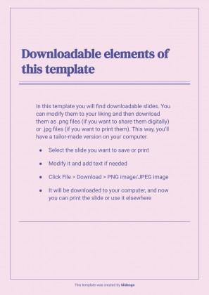 Plantilla de presentación CV profesional con marcos lineales simples