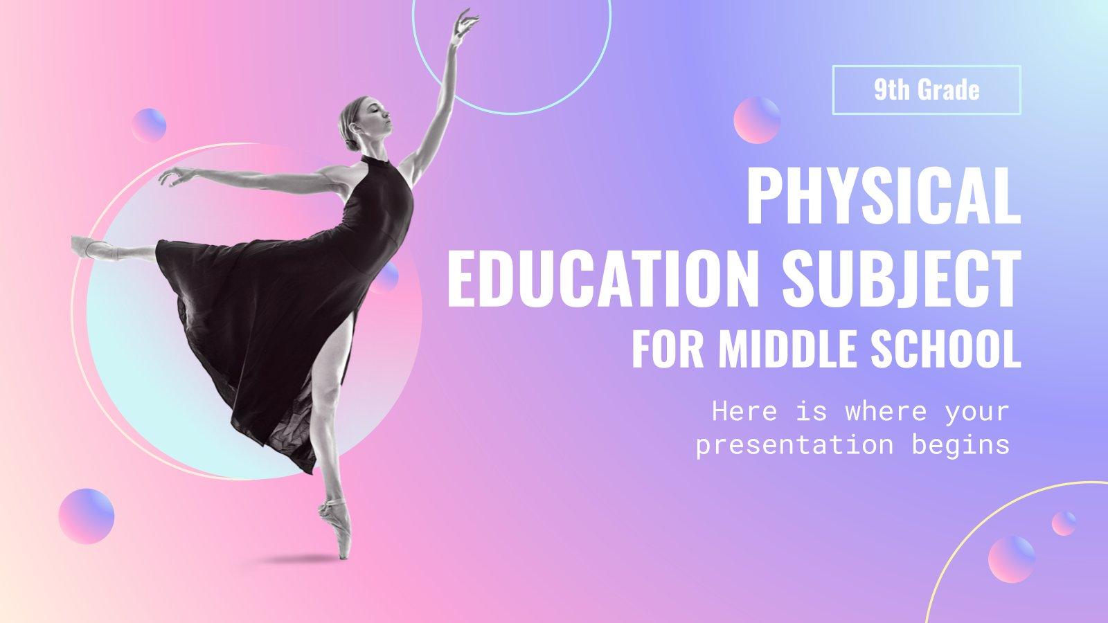 Éducation physique et sportive pour l'école primaire : danse : Modèles de présentation