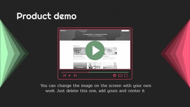 Plantilla de presentación Pitch Deck simple y profesional
