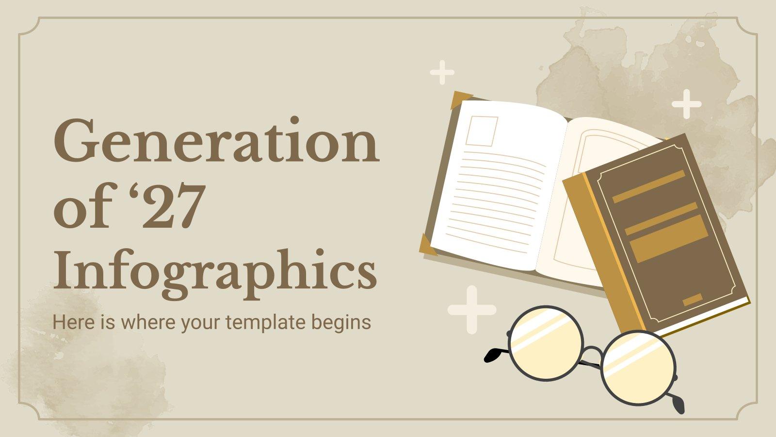 Generation of '27 Infographics presentation template