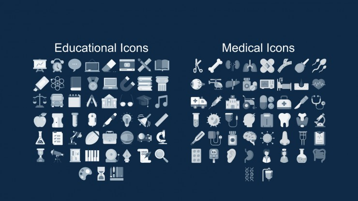 Plantilla de presentación Diseño vintage para casos clínicos