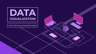 Data Visualization Plan presentation template