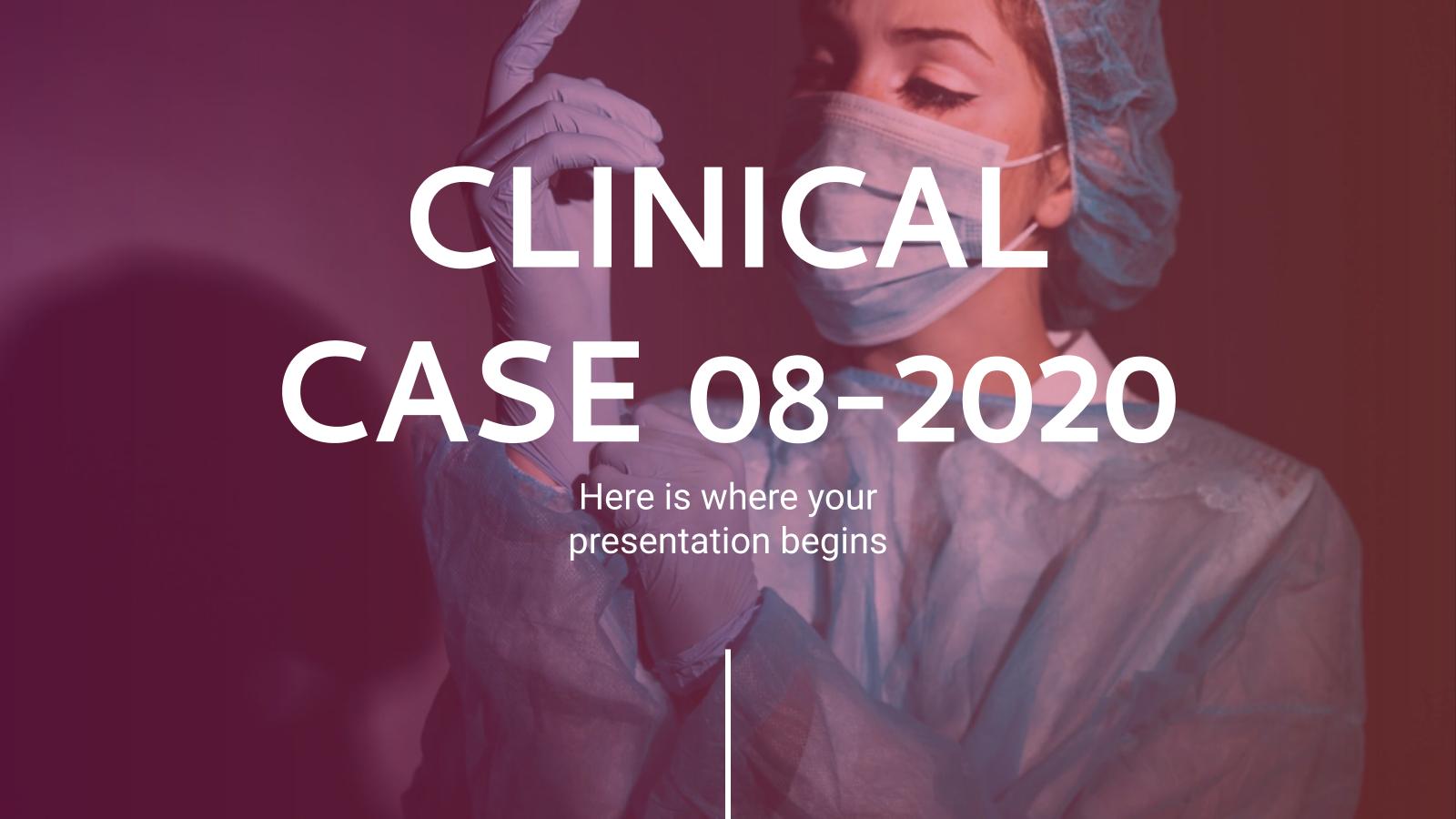 Modelo de apresentação Caso clínico 08-2020