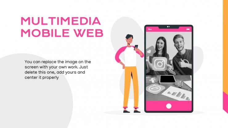 Magazine réseaux sociaux : Modèles de présentation