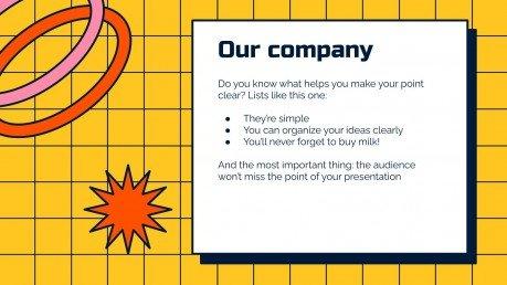 Teamorganisation für Business Präsentationsvorlage