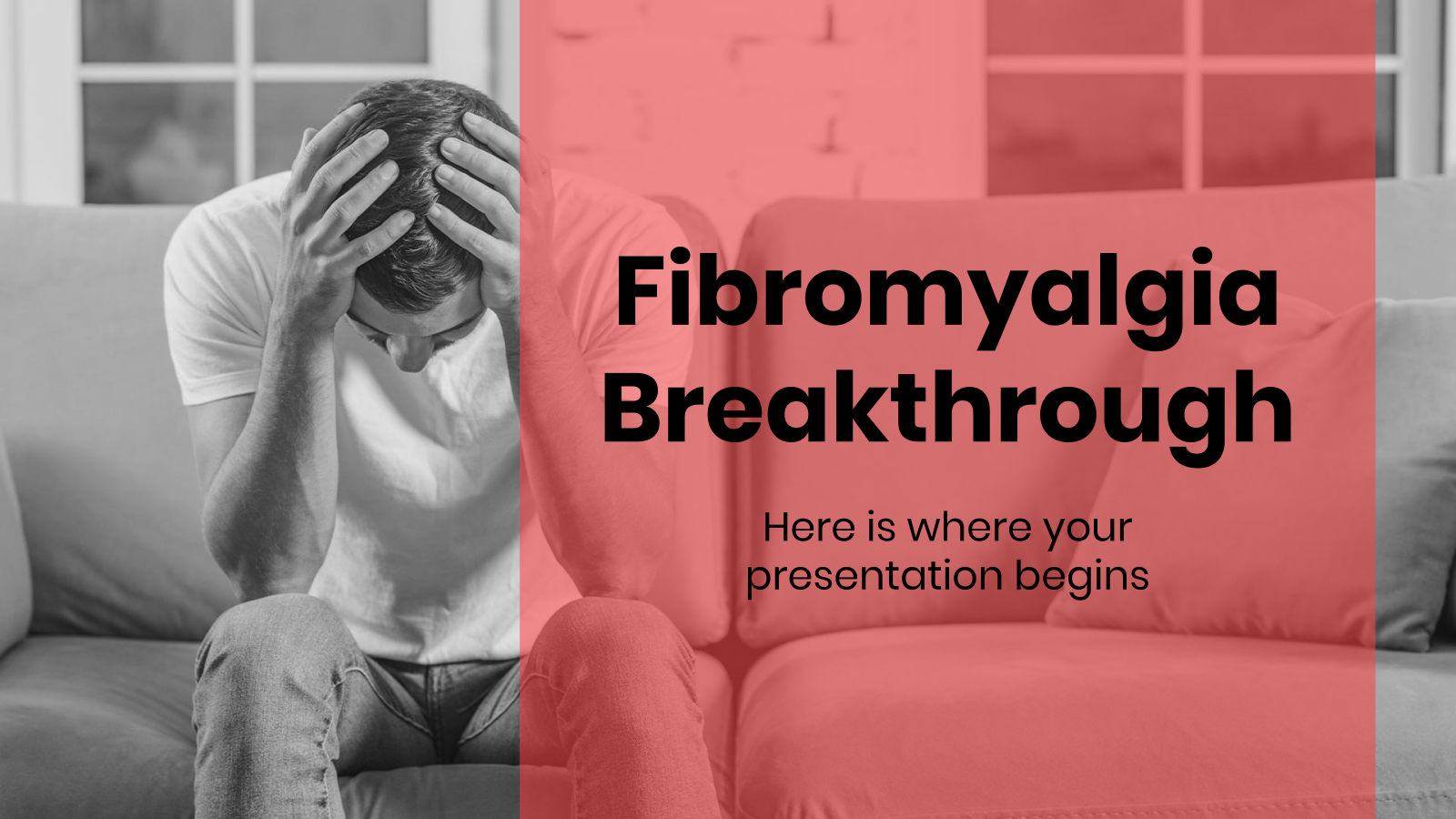 Fibromyalgia Breakthrough presentation template