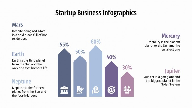 Startup Business Infographics presentation template