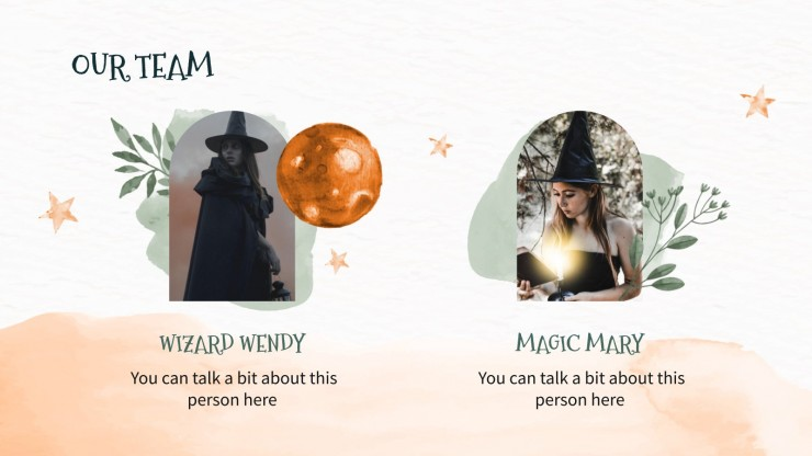 Zauberer's App Pitch Deck Präsentationsvorlage