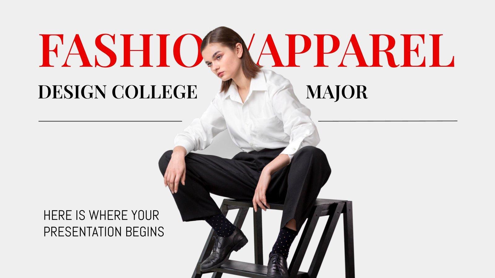 Études universitaires en design de mode : Modèles de présentation