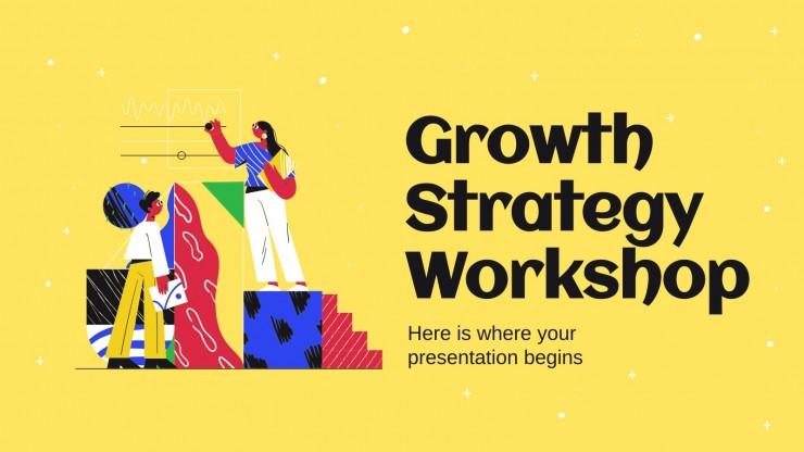 Wachstumsstrategie Workshop Präsentationsvorlage
