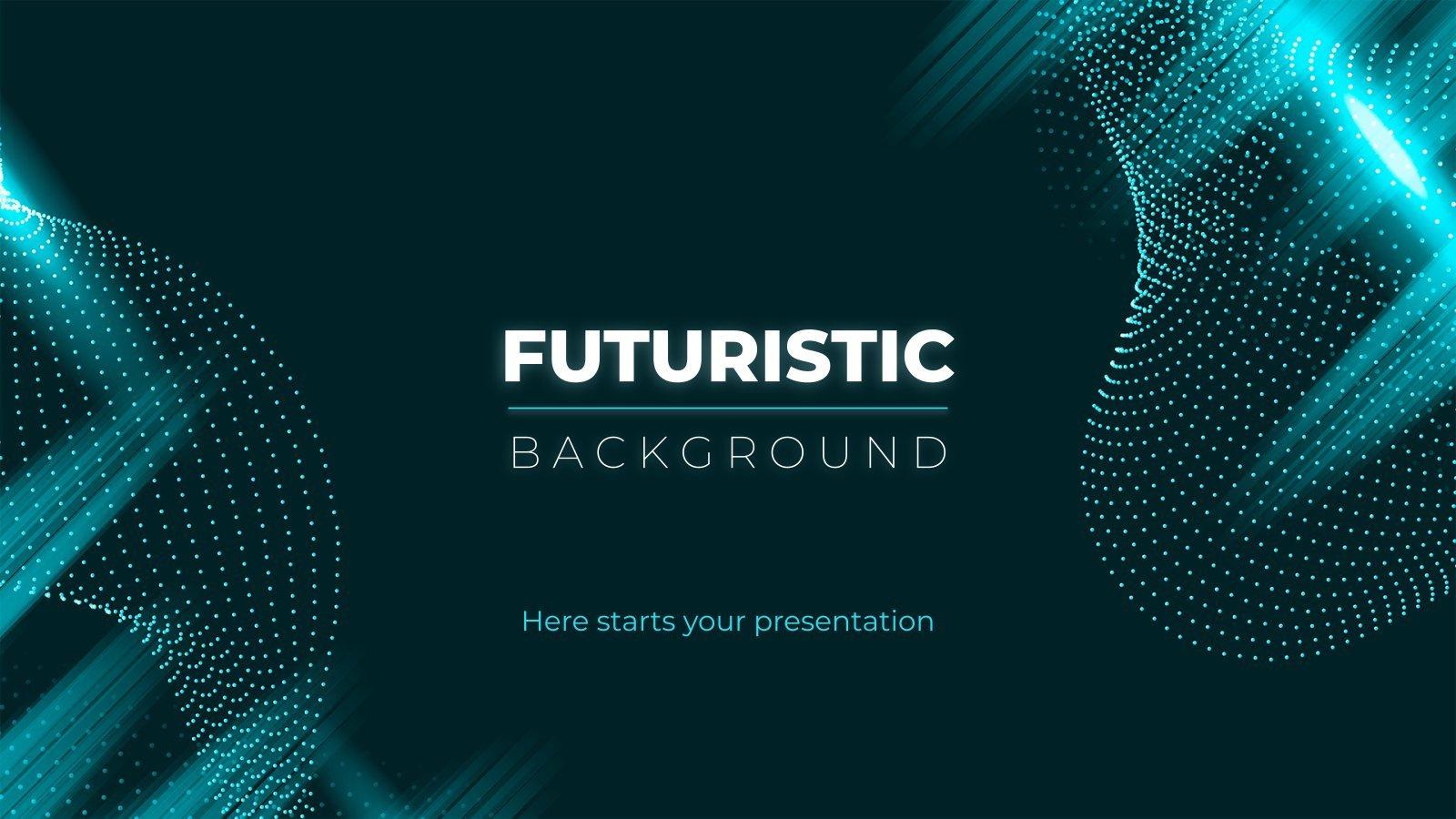 Futuristic Background presentation template