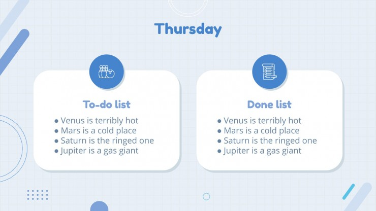 August Daily Slides presentation template