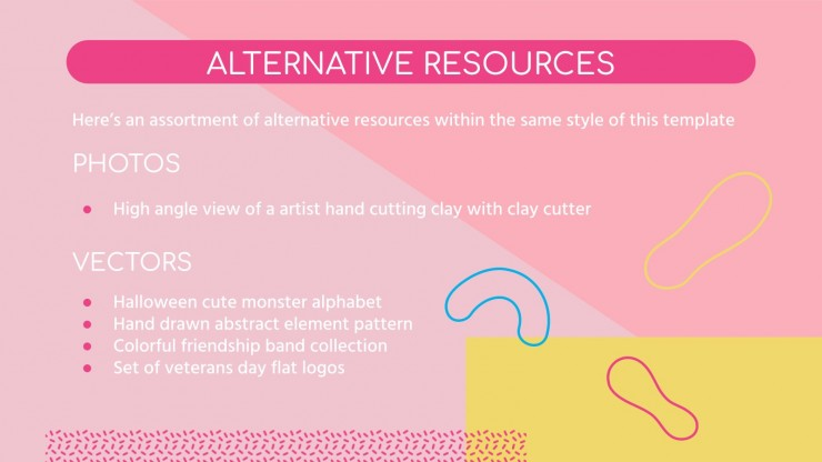 Art Subject for Pre-K: Sculpting presentation template
