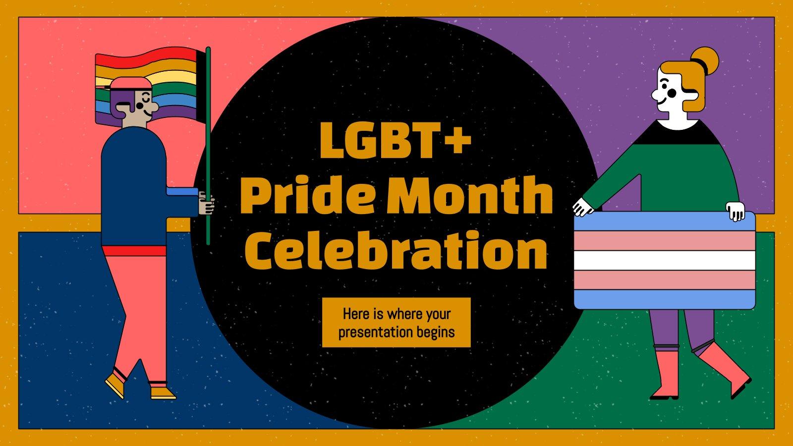 Plantilla de presentación Mes del Orgullo LGTB+