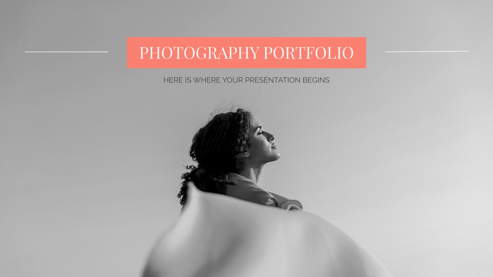 Portfolio de photographies : Modèles de présentation