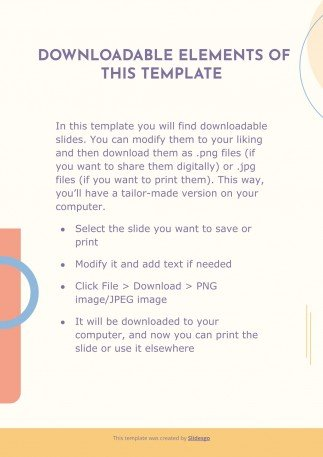 Canoni Memphis CV presentation template