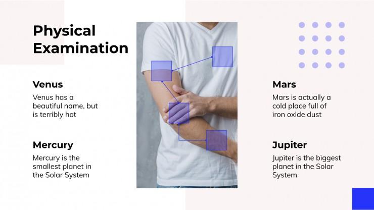 Surgery Clinical Case presentation template