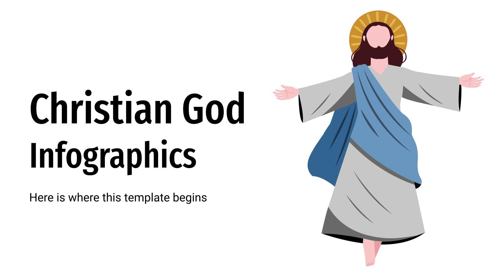 Infographies sur le christianisme : Modèles de présentation