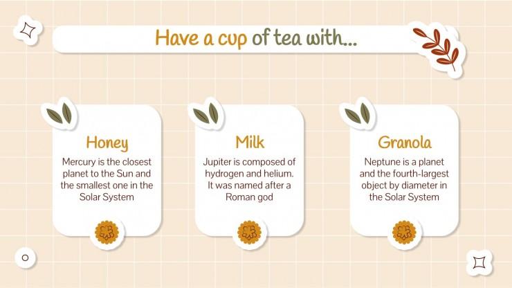 UK Afternoon Tea Week Minitheme presentation template