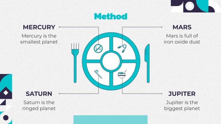 Plantilla de presentación Descubrimiento sobre la nutrición