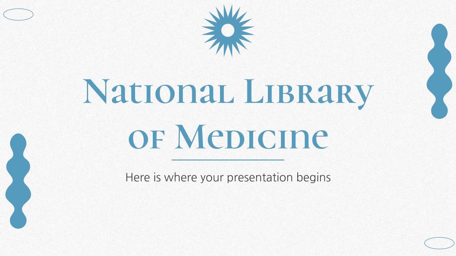 Modelo de apresentação Biblioteca nacional de medicina